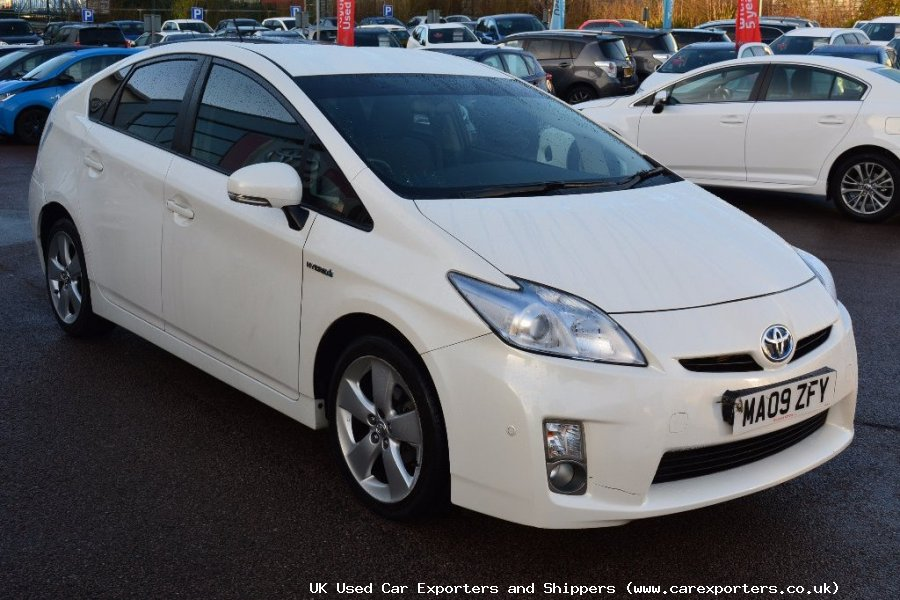 uk used cars exporters shipping toyota prius 1 8 vvt i. Black Bedroom Furniture Sets. Home Design Ideas