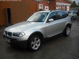 BMW X3 3.0I SPORT 5DR AUTO 2004