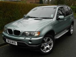 BMW X5 5dr Auto Diesel Estate 2001