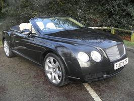 Bentley Continental Gtc 6.0 W12 2DR AUTO GTC 2007