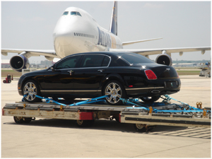 AIR FREIGHT - CARS MACHINERY AND MOTORCYCLES